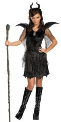 Tween Maleficent Gown Costume