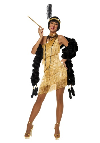 Flapper sexy Halloween costumes for women