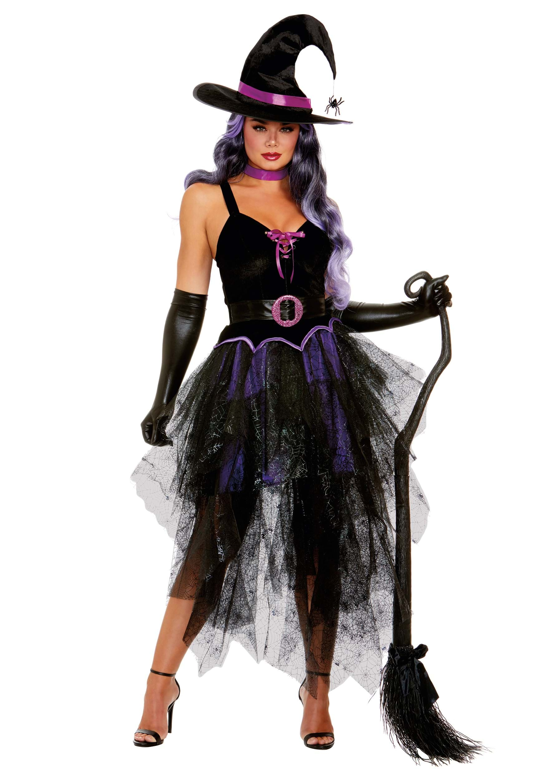 Sexy witch costume for women